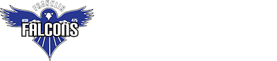 "Franklin Elementary Logo with ""Home of the Falcons"""
